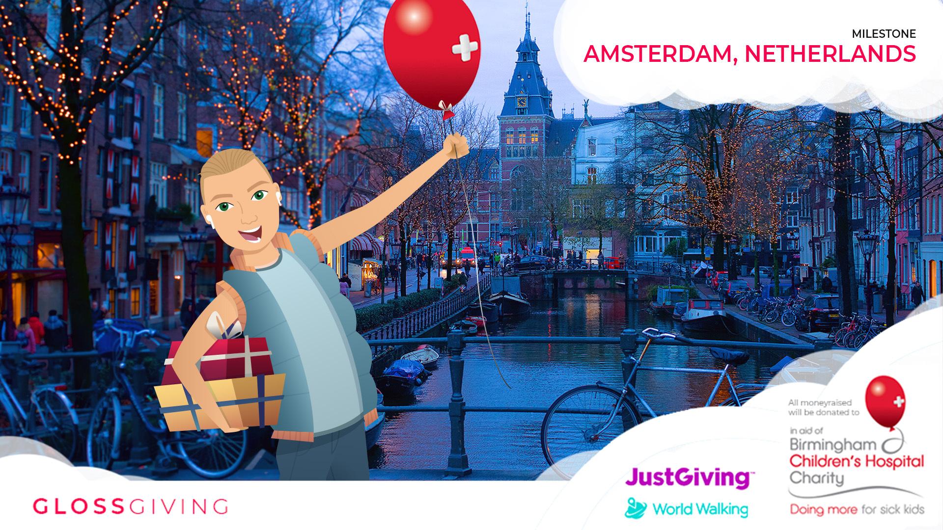 Amsterdam milestone for Birmingham Children's Hospital