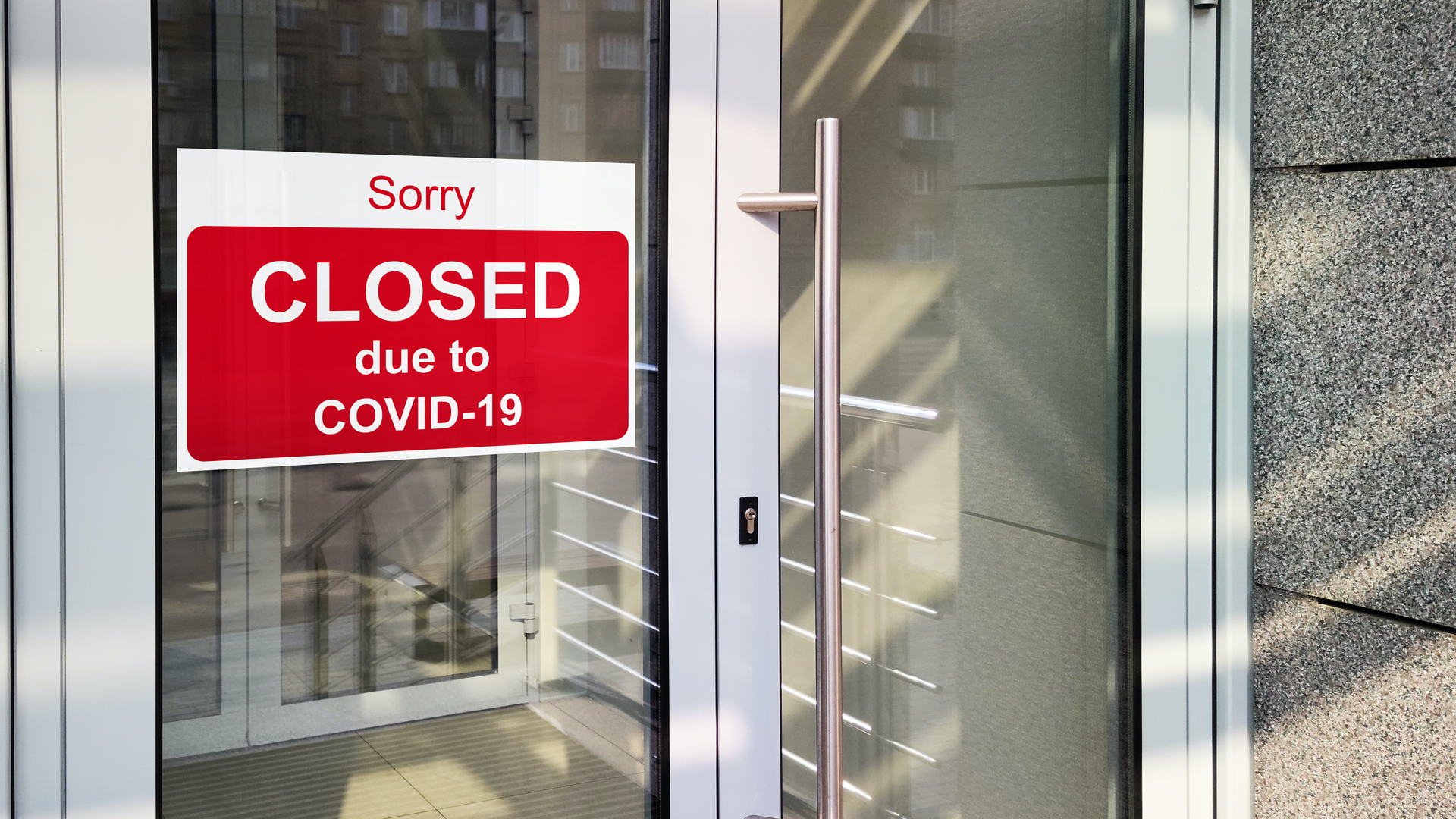Business closed for lcockdown